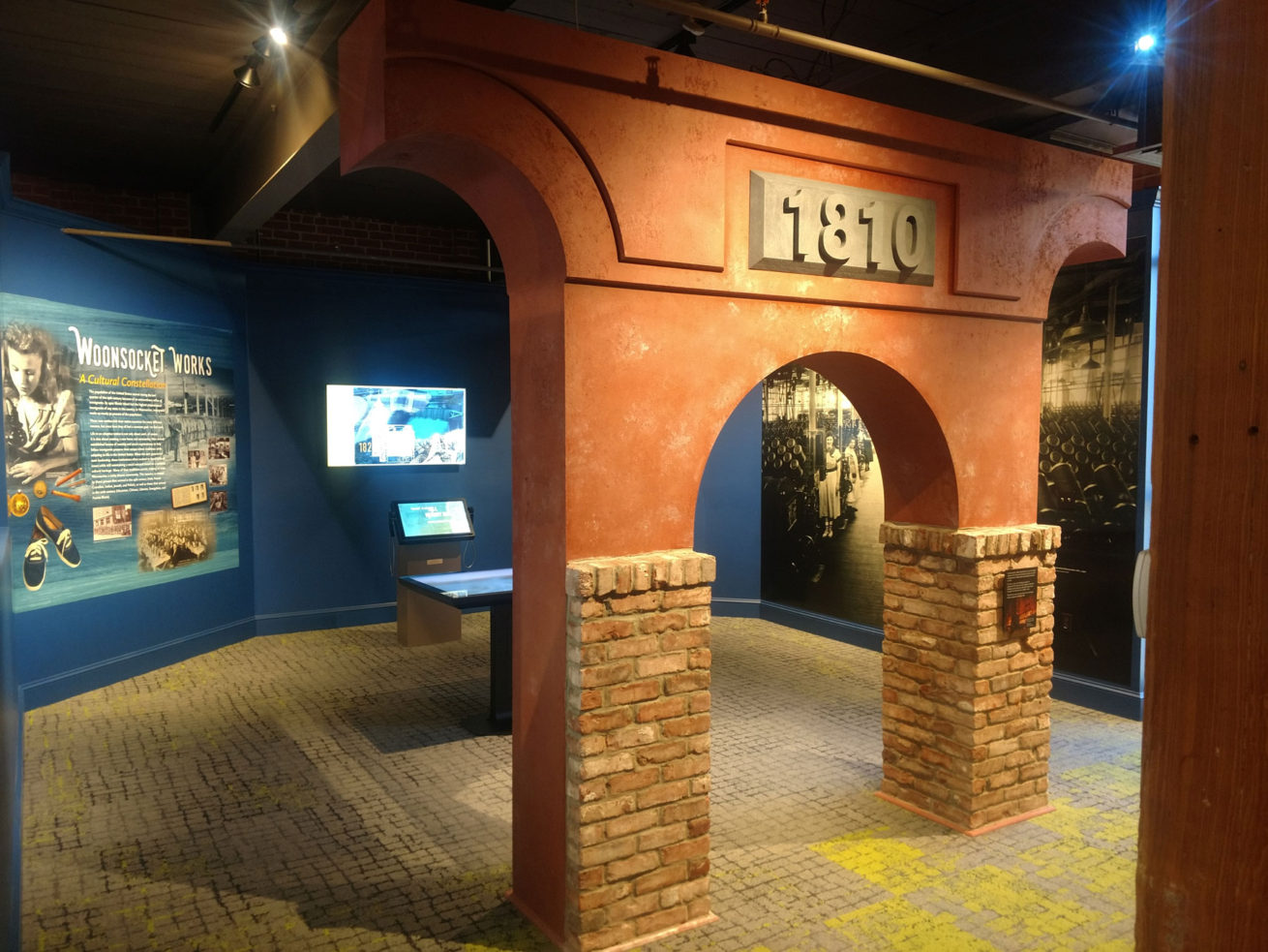 Exhibit with interactive experiences about the mills that shaped the city, the lives, and culture of its people.